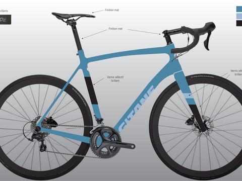 GITANE | vélos de route | design graphique