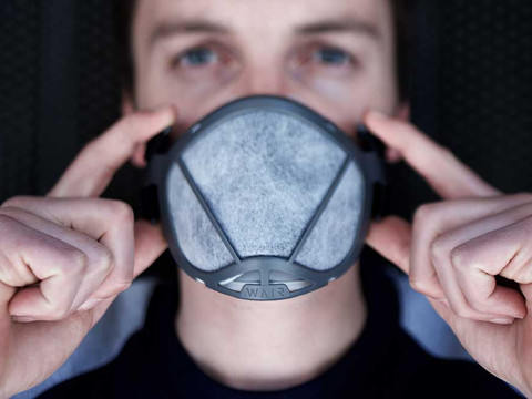 WAIR | masque anti-pollution | design de produit
