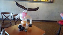 Cow  Balloon Animal Denver