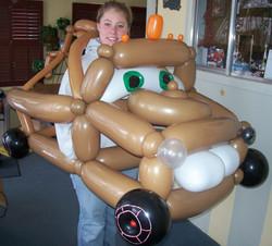 Tow Mator Disney Cars balloon Denver Delivery Decor