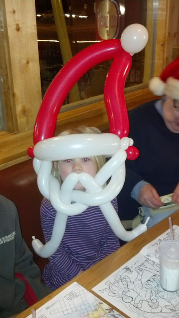 Santa Claus  Balloon Animal Denver