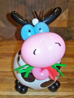 Cow Centerpiece balloon Denver Delivery Decor