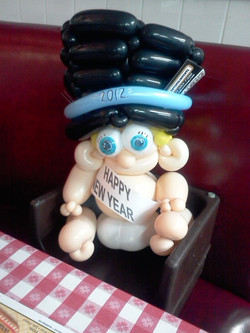 New years Baby balloon Denver Delivery Decor