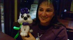 Adorable Dog  Balloon Animal Denver