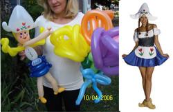 Dutch Lady balloon Denver Delivery Decor