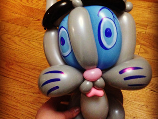 Balloon Animal Kitty Cat for Denver