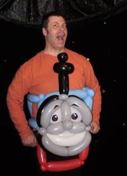 Me in Thomas the Train
