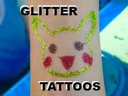 Pikachu Glitter tattoos Denver_edited