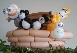Noahs ark Balloon  Dener Decor decorations