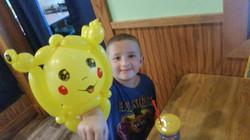 Pikachu Denver balloon artist Zane King