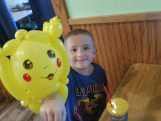 Copy of Pikachu Balloon Animal in Denver