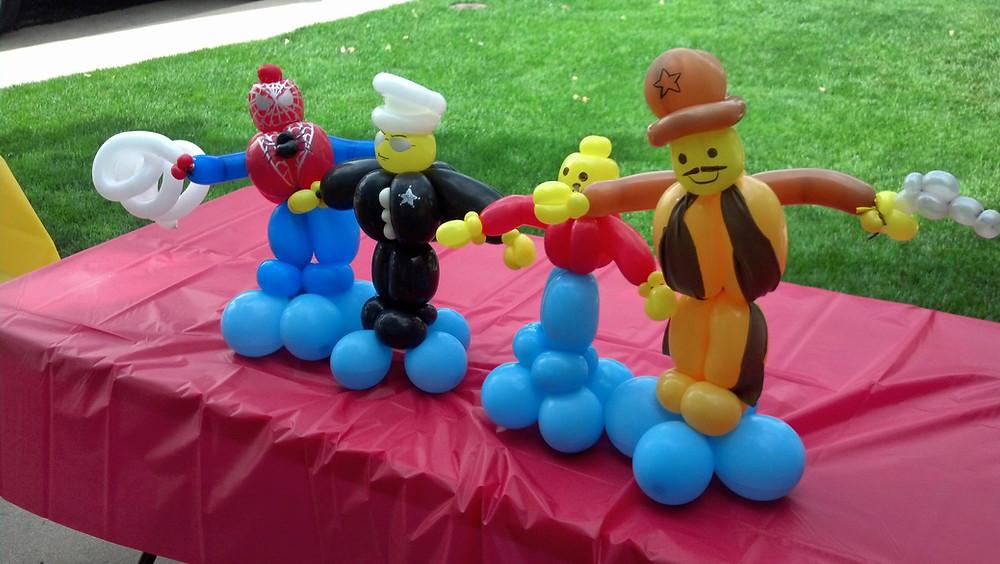 Lego People Balloon Animal Twisting