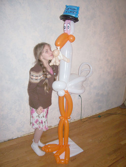 Stork baby shower Denver Balloon Decor Delivery