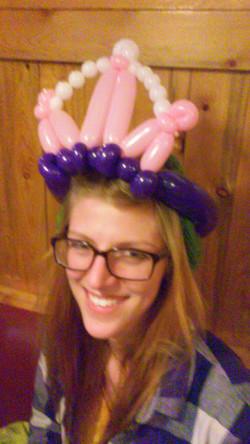 Princess Crown Tiara Balloon Animal