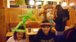 Alien & Monkey Balloon Animal Denver