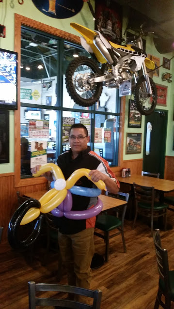 Motorcycle Balloon Animal Denver