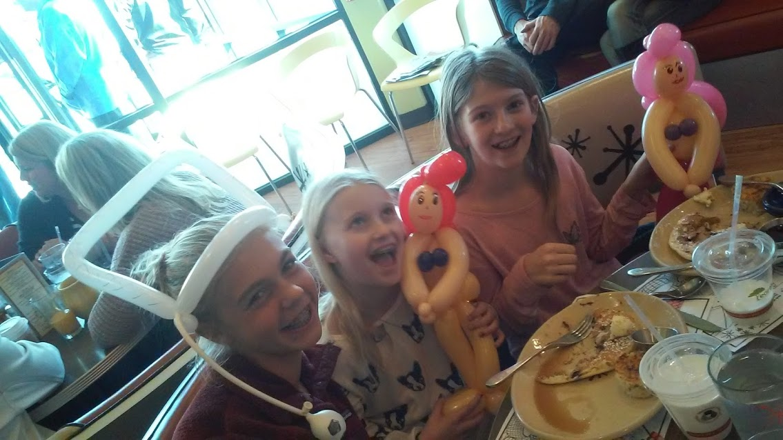 Mermaids & soccer  Balloon Animal