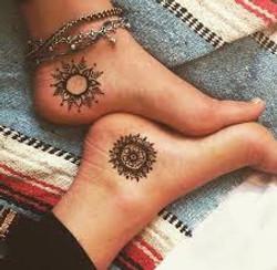 Ankle Henna Tattoo Denver