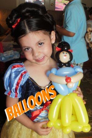 Snow White Balloon Princess Birthday Party In Denver