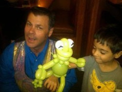 Me with Kermit the Frog