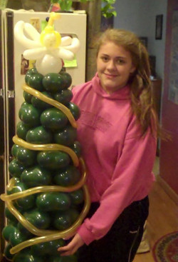 Christmas Tree balloon Denver Delivery Decor