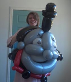 Thomas the Train balloon Denver Delivery Decor
