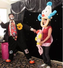 Me as Buffa the clown
