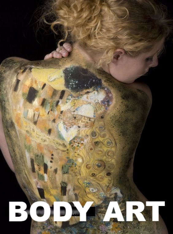 Body Art Face Paint Denver Gustav Klimt the Kiss_edited