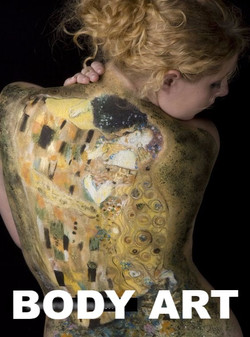 Body Art Face Paint Denver Gustav Klimt the Kiss_edited