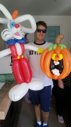 Roger Rabbit Pumpkin  balloon Denver Delivery Decor