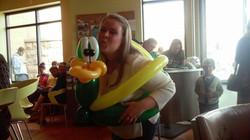 Duck Balloon artist
