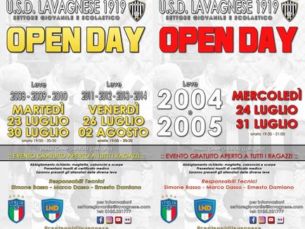 Open Day settore giovanile: sei appuntamenti per presentare l'offerta bianconera.