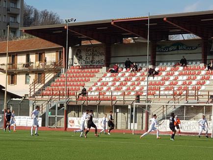 Serie D: giornata no, a Borgosesia squadra sotto tono ma in crescita.