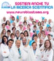 immagine promozionale dell'Associazione Italiana per la Lotta al Neuroblastoma