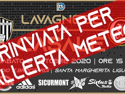Serie D: un altro rinvio per il team di Nucera, salta anche la gara col Casale!