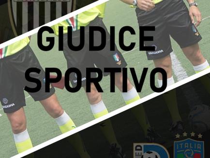 Serie D : le decisioni del Giudice Sportivo per Serie D e Juniores.