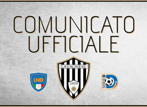 Serie D: rinviata la gara Sanremese - Lavagnese causa Covid.