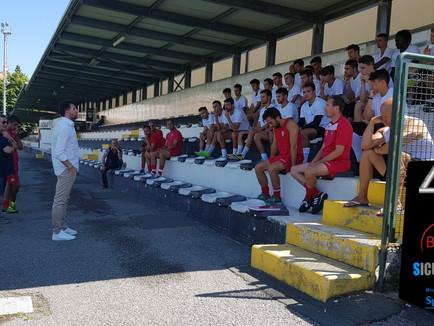 Serie D: il programma della preparazione bianconera.