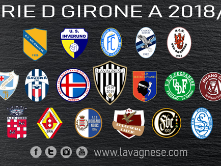 Serie D : pubblicati i gironi, si ritorna nel girone A!