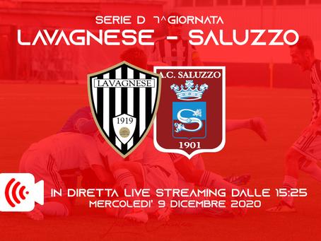 Serie D: sarà trasmessa in Live streaming Lavagnese - Saluzzo!