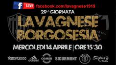 Serie D: Lavagnese - Borgosesia sarà trasmessa in Live streaming su Facebook.