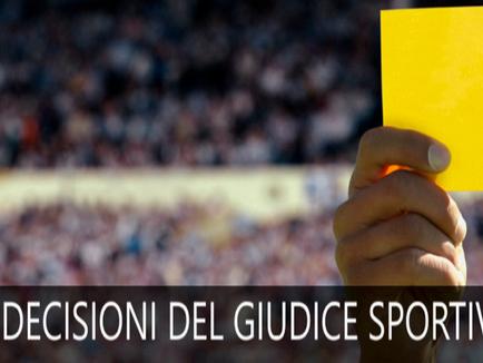 Serie D e Juniores: le decisioni del Giudice Sportivo.