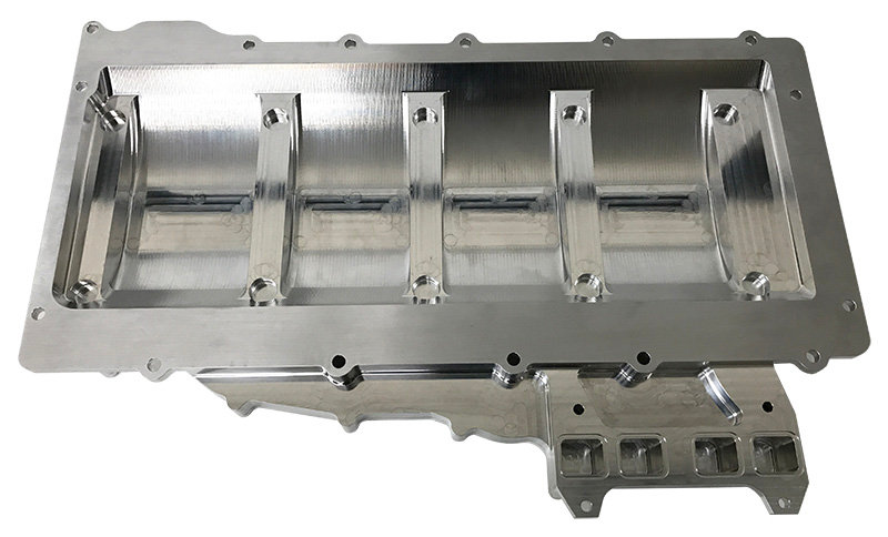 GM, LS Race, Right Side, Replacement Dry Sump Oil Pan