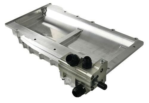 OBPDS05 obp Motorsport 3 Gallon Aluminium Dry Sump Tank
