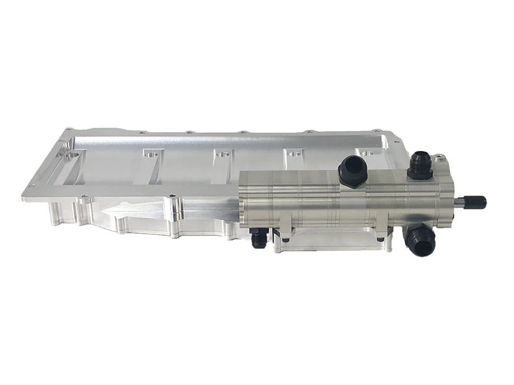 LS Race F-Body, 6-Stage Turbo Scavenge, Right Side