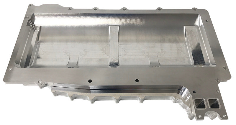GM, LS Production, Right Side, Replacement Dry Sump Oil Pan