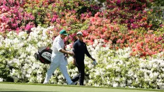 The Masters 2020 The Masters 2021 Scenery Augusta National Flowers Golfers Golf Golf Cubs Walking Golf Course Backdrop