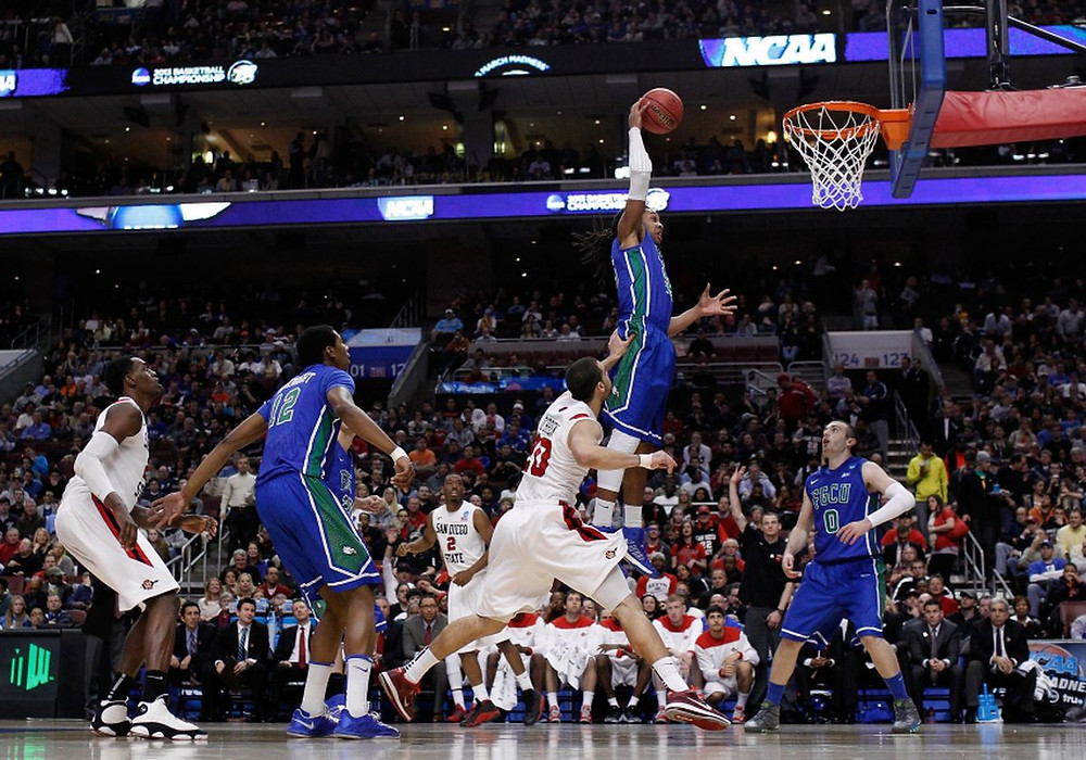March Madness, NCAA, Cinderella Story, Basketball, Dunk, Lob City, FGCU, Eagles, Sweet 16, alley-oop, dunks