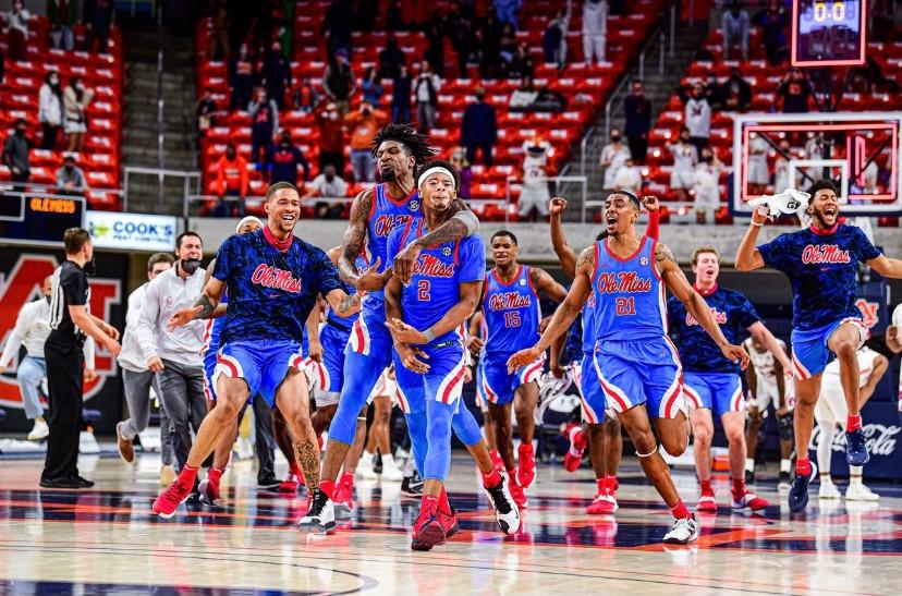 Ole Miss, Auburn, Buzzer-Beater, Game-Winner, Overtime, NCAA, Basketball