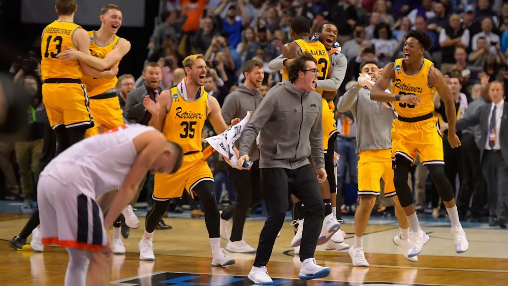 UMBC beats #1 seed Virginia, March Madness, Cinderella Story, NCAA, Basketball, Blowout, UMBC, Virginia Basketball, Upset, First 1 seed to lose in first round, hoops